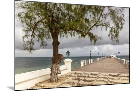 View of the Sea of Zanj from Dock, Mozambique Island, Mozambique-Alida Latham-Mounted Photographic Print