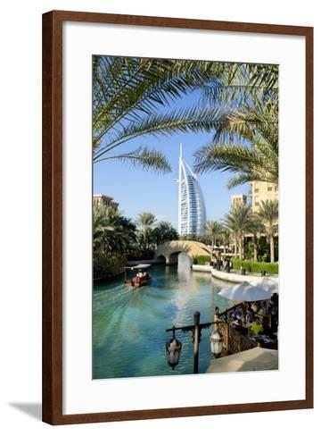 The Burj Al Arab , Dubai, United Arab Emirates-Bill Bachmann-Framed Art Print