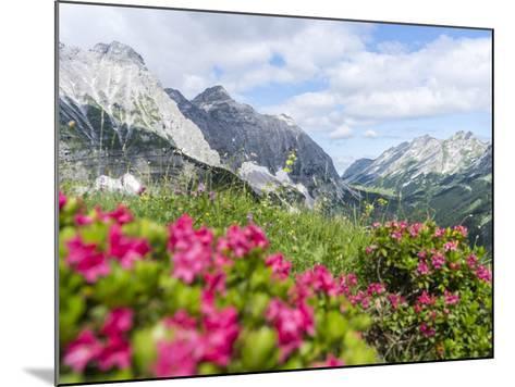 Karwendel Mountain Range, Tyrol, Austria-Martin Zwick-Mounted Photographic Print