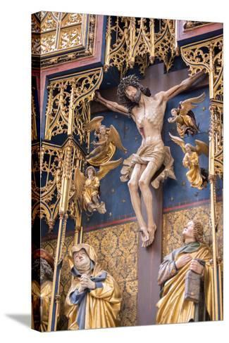 St. Jacobs Altar, Rothenberg Ob Der Tauber, Baden-Wurttemberg, Germany-Jim Engelbrecht-Stretched Canvas Print