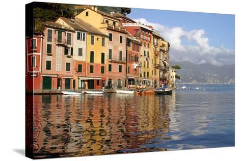 Riviera of Portofino, Italy-Kymri Wilt-Stretched Canvas Print