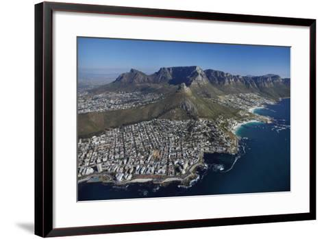 Bantry Bay, Clifton Beach, Lion's Head, Cape Town, South Africa-David Wall-Framed Art Print