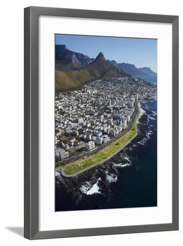 Sea Point Promenade, Lion's Head, Cape Town, South Africa-David Wall-Framed Art Print