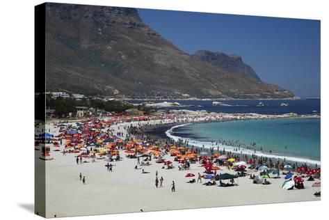 Camps Bay, Cape Town, South Africa-David Wall-Stretched Canvas Print