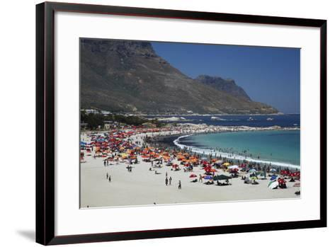 Camps Bay, Cape Town, South Africa-David Wall-Framed Art Print