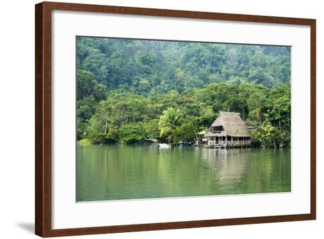 Rio Dulce Riverside View, Rio Dulce National Park, Guatemala-Cindy Miller Hopkins-Framed Art Print