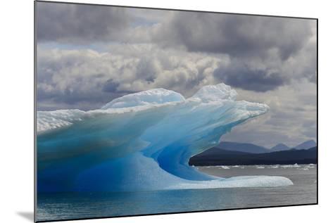 Icebergs in Laguna San Rafael, Laguna San Rafael NP, Aysen, Chile-Fredrik Norrsell-Mounted Photographic Print