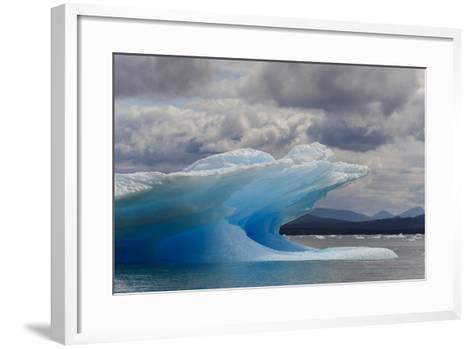 Icebergs in Laguna San Rafael, Laguna San Rafael NP, Aysen, Chile-Fredrik Norrsell-Framed Art Print