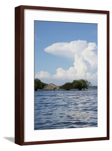 Beach at Height of the Wet Season, Alter Do Chao, Amazon, Brazil-Cindy Miller Hopkins-Framed Art Print