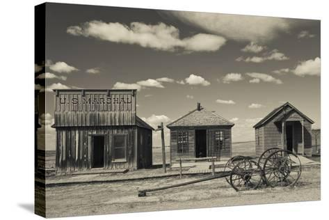 1880 Town, Pioneer Village, Stamford, South Dakota, USA-Walter Bibikow-Stretched Canvas Print