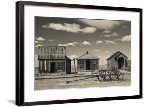 1880 Town, Pioneer Village, Stamford, South Dakota, USA-Walter Bibikow-Framed Art Print