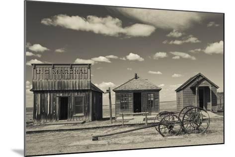 1880 Town, Pioneer Village, Stamford, South Dakota, USA-Walter Bibikow-Mounted Photographic Print