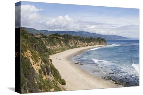 Point Dume, Malibu, California, USA-Peter Bennett-Stretched Canvas Print