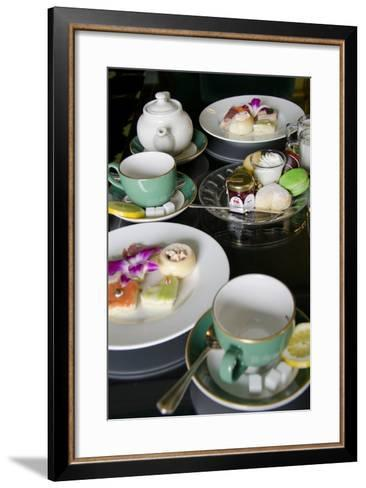 Grand Hotel Traditional Tea, Mackinac Island, Michigan, USA-Cindy Miller Hopkins-Framed Art Print
