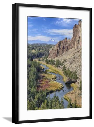 Crooked River, Smith Rock State Park, Oregon, USA-Jamie & Judy Wild-Framed Art Print