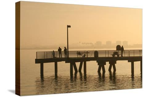 Shelter Island, San Diego Bay, California, USA-Peter Bennett-Stretched Canvas Print