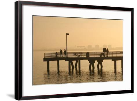 Shelter Island, San Diego Bay, California, USA-Peter Bennett-Framed Art Print