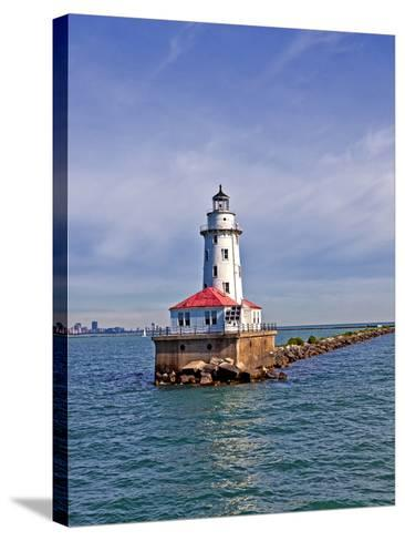 Chicago Skyline from the Water, Illinois, USA-Joe Restuccia III-Stretched Canvas Print