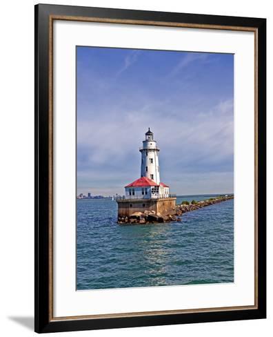 Chicago Skyline from the Water, Illinois, USA-Joe Restuccia III-Framed Art Print