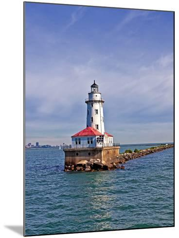 Chicago Skyline from the Water, Illinois, USA-Joe Restuccia III-Mounted Photographic Print
