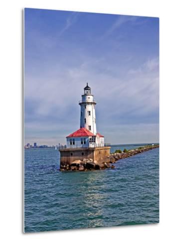 Chicago Skyline from the Water, Illinois, USA-Joe Restuccia III-Metal Print
