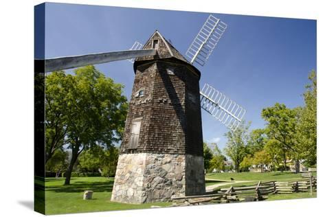 Farris Windmill, Greenfield Village, Dearborn, Michigan, USA-Cindy Miller Hopkins-Stretched Canvas Print