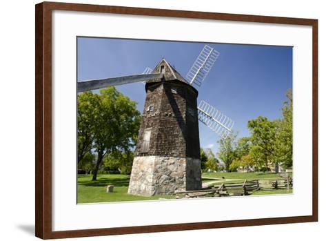 Farris Windmill, Greenfield Village, Dearborn, Michigan, USA-Cindy Miller Hopkins-Framed Art Print