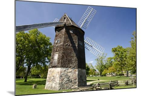 Farris Windmill, Greenfield Village, Dearborn, Michigan, USA-Cindy Miller Hopkins-Mounted Photographic Print