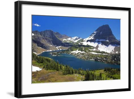 Hanging Gardens, Logan Pass, Glacier National Park, Montana, USA-Charles Gurche-Framed Art Print
