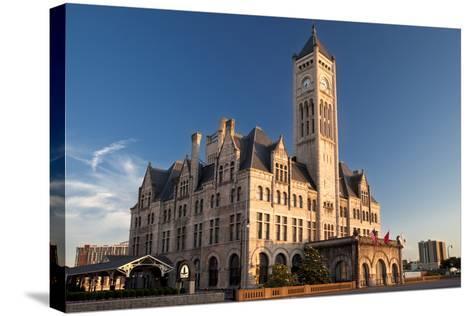 Union Station Hotel, Nashville, Tennessee, USA-Brian Jannsen-Stretched Canvas Print