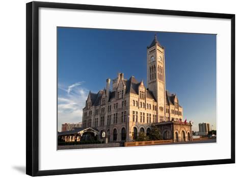 Union Station Hotel, Nashville, Tennessee, USA-Brian Jannsen-Framed Art Print