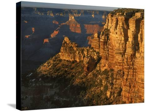 Sunset, Grand Canyon National Park, Arizona, USA-Charles Gurche-Stretched Canvas Print