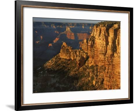 Sunset, Grand Canyon National Park, Arizona, USA-Charles Gurche-Framed Art Print