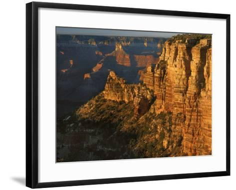 Sunset, Grand Canyon National Park, Arizona, USA-Charles Gurche-Framed Art Print