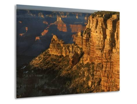 Sunset, Grand Canyon National Park, Arizona, USA-Charles Gurche-Metal Print