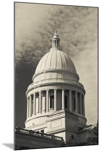 Arkansas State Capitol Exterior, Little Rock, Arkansas, USA-Walter Bibikow-Mounted Photographic Print