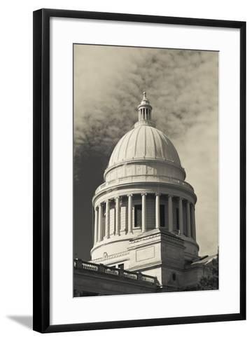 Arkansas State Capitol Exterior, Little Rock, Arkansas, USA-Walter Bibikow-Framed Art Print