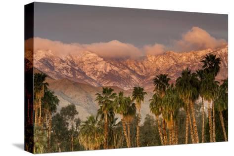Jacinto and Santa Rosa Mountain Ranges, Palm Springs, California, USA-Richard Duval-Stretched Canvas Print