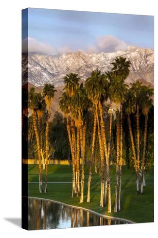 Desert Island Golf and Country Club, Palm Springs, California, USA-Richard Duval-Stretched Canvas Print