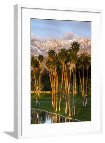 Desert Island Golf and Country Club, Palm Springs, California, USA-Richard Duval-Framed Art Print