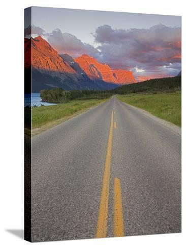Going-To-The-Sun Road, Glacier National Park, Montana, USA-Charles Gurche-Stretched Canvas Print