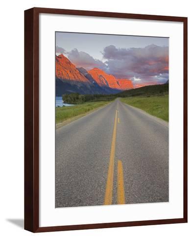 Going-To-The-Sun Road, Glacier National Park, Montana, USA-Charles Gurche-Framed Art Print