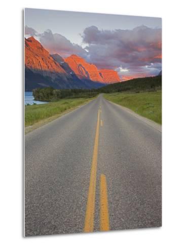 Going-To-The-Sun Road, Glacier National Park, Montana, USA-Charles Gurche-Metal Print