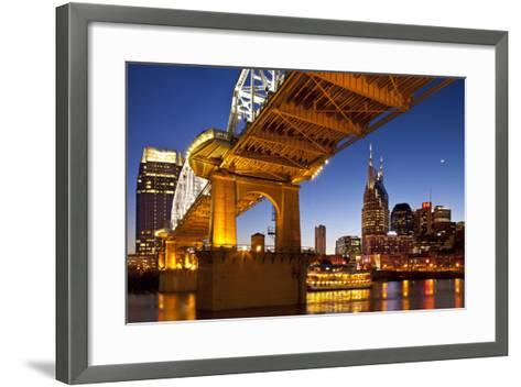 General Jackson Stern Wheel Show Boat, Nashville, Tennessee, USA-Brian Jannsen-Framed Art Print
