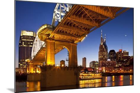 General Jackson Stern Wheel Show Boat, Nashville, Tennessee, USA-Brian Jannsen-Mounted Photographic Print