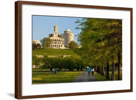 Enjoying Bicentennial Park, Nashville, Tennessee, USA-Brian Jannsen-Framed Art Print