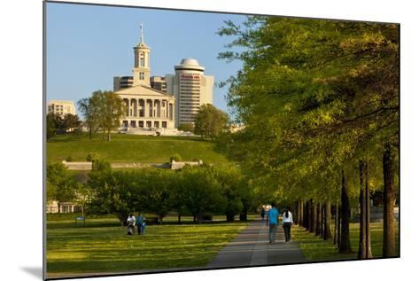 Enjoying Bicentennial Park, Nashville, Tennessee, USA-Brian Jannsen-Mounted Photographic Print
