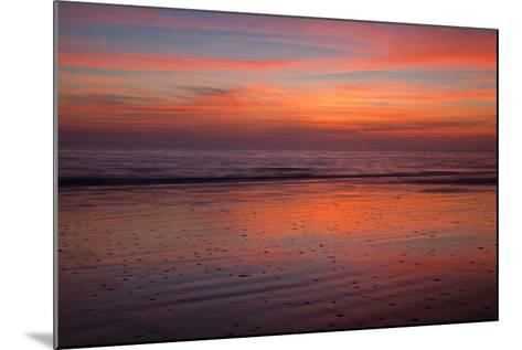 Sunrise on the Beach at Jekyll Island, Georgia, USA-Joanne Wells-Mounted Photographic Print