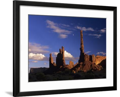 Rock Formations of Monument Valley, Navajo Nation Usa-Jerry Ginsberg-Framed Art Print
