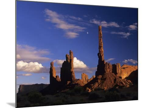 Rock Formations of Monument Valley, Navajo Nation Usa-Jerry Ginsberg-Mounted Photographic Print